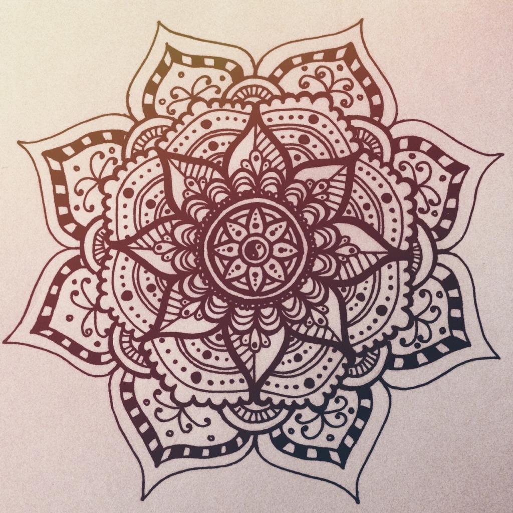 Mandala tattoo tout un symbole for Mandala tattoo tumblr